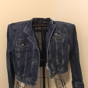 Cute and rustic jean jacket